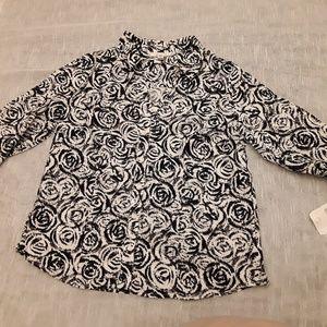 JM COLLECTION size14 blouse button